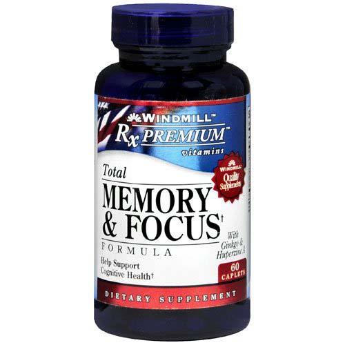 memory and focus formula
