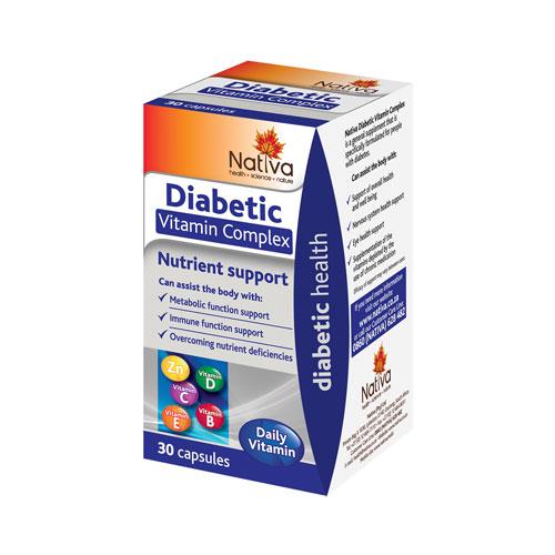 nativa diabetic vitamin complex